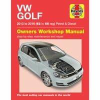 Haynes Manual Workshop Repair VW Golf 2013-16 1.2 1.4 2.0 Petrol Diesel